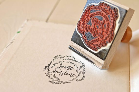 bookworm_gift_ideas_personal_library_stamp