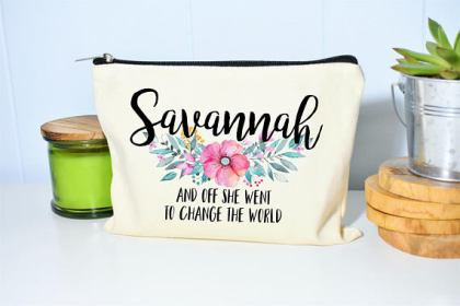 Graduation Gift for Her - Makeup Toiletry Bag