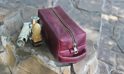 Leather Toiletry Bag for him - Graduation Gifts