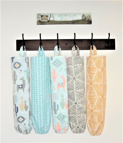 Plastic Shopping Bag Holder - Grocery Bag Holder